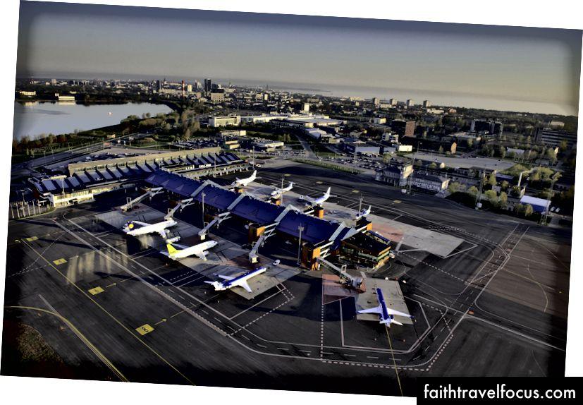 Sân bay Tallinn - TLL