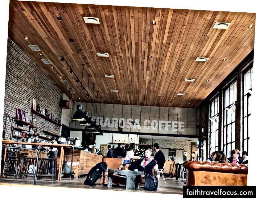 Cà phê Terarosa trên đảo Jeju - có thể là quán cà phê tốt nhất thế giới?