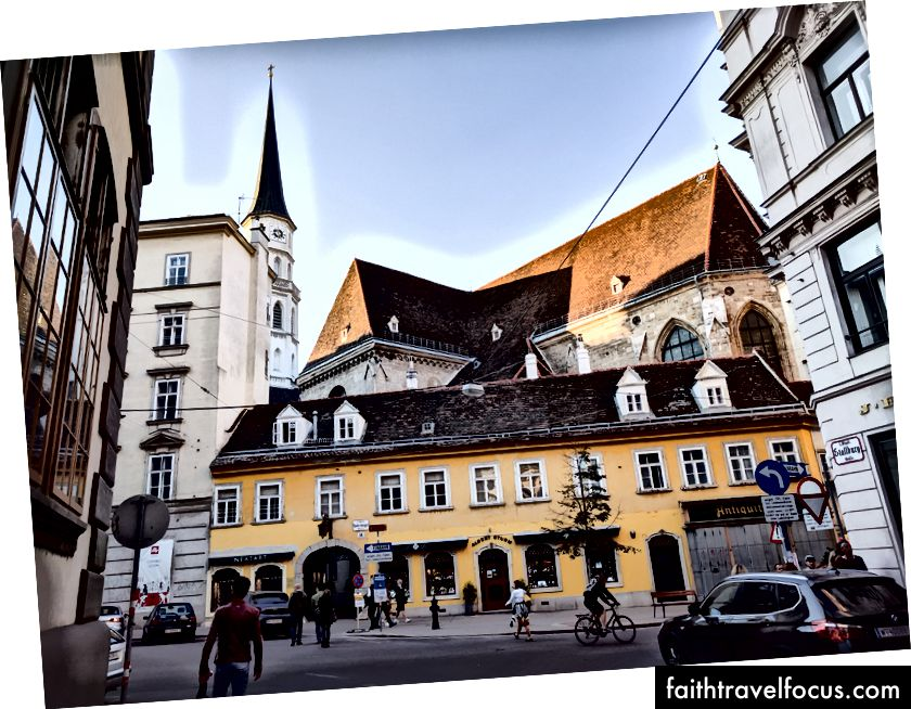 Viyana sokakları