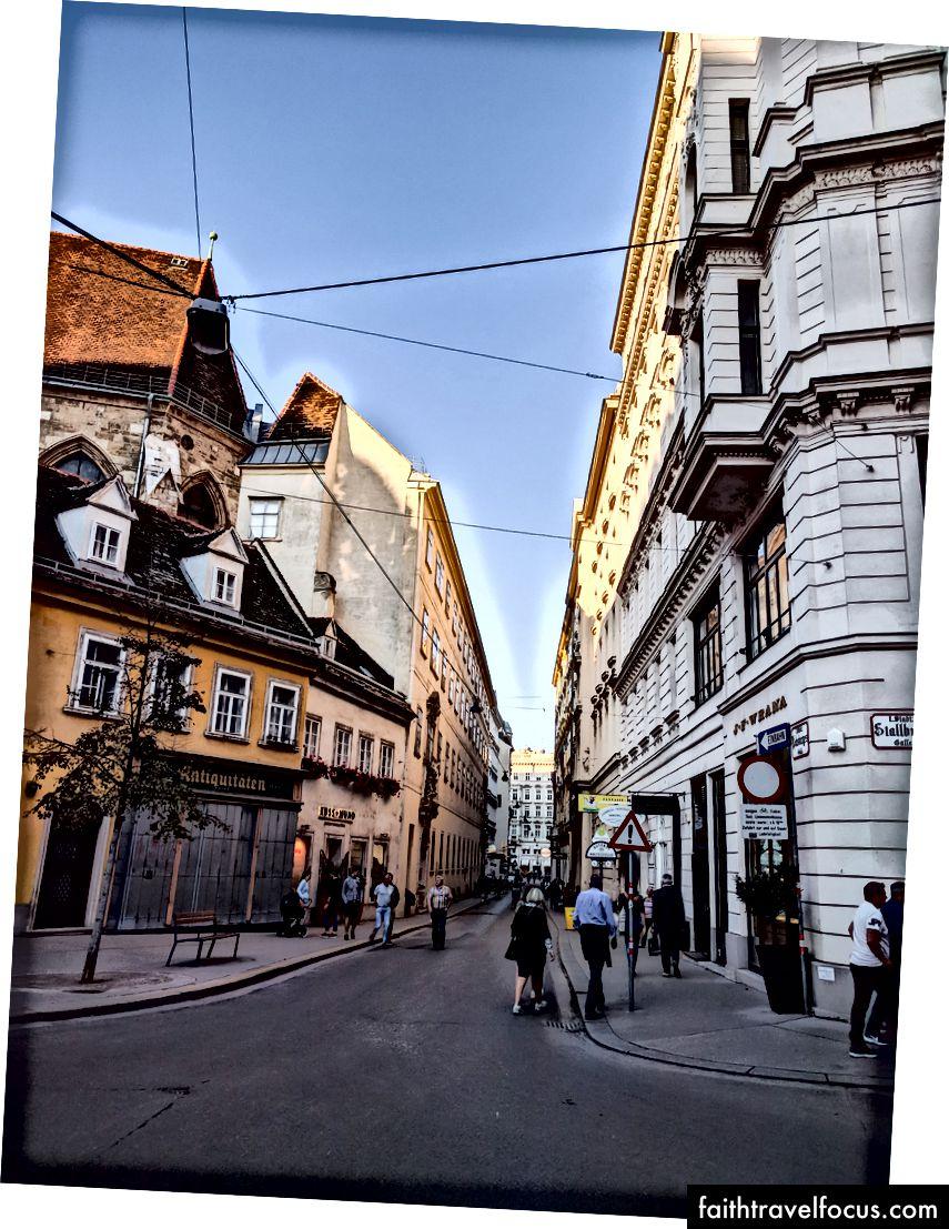 Đường phố Vienna