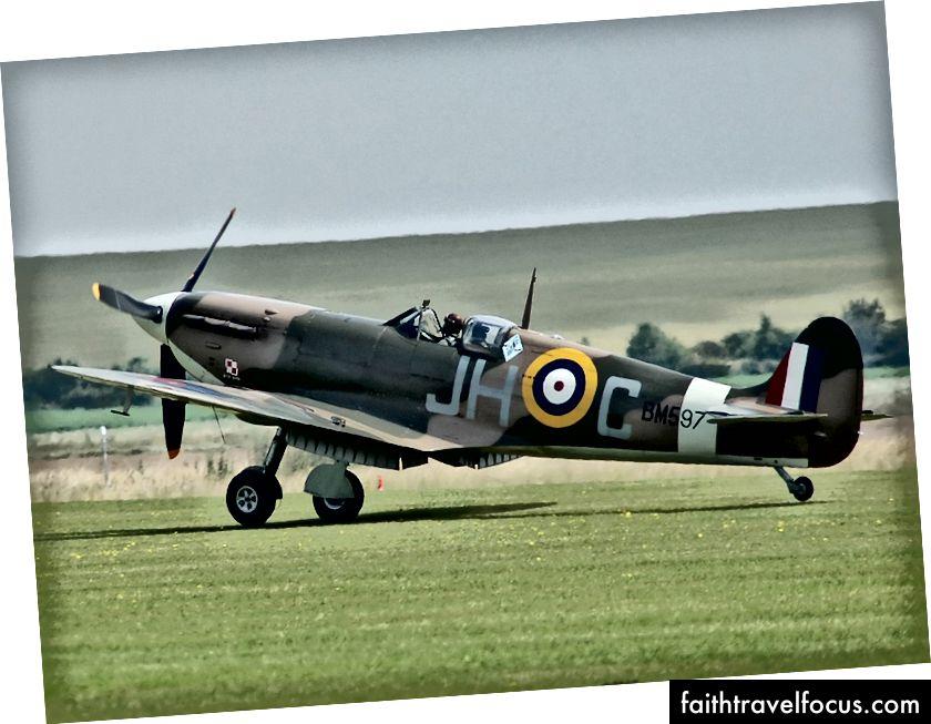 II. Dünya Savaşı'ndan İngiliz Spitfire