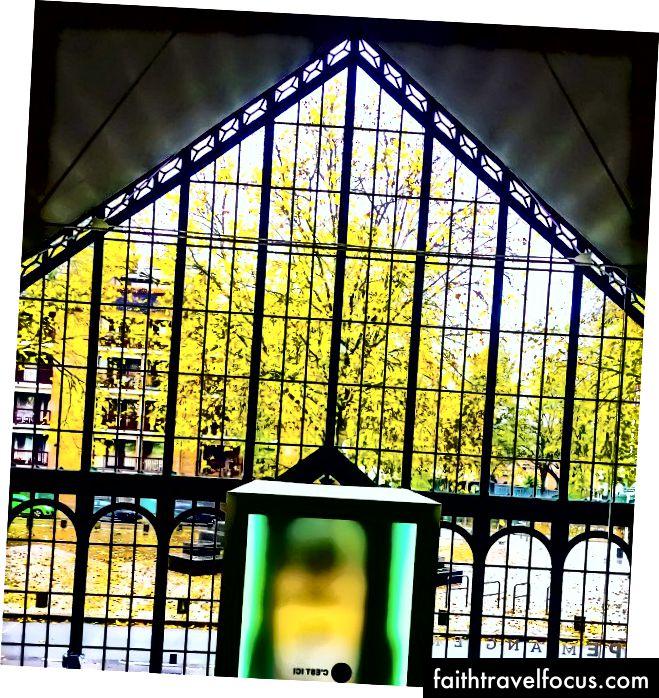 Меморіал війни монсу - Вид зсередини, Монс (Бельгія)