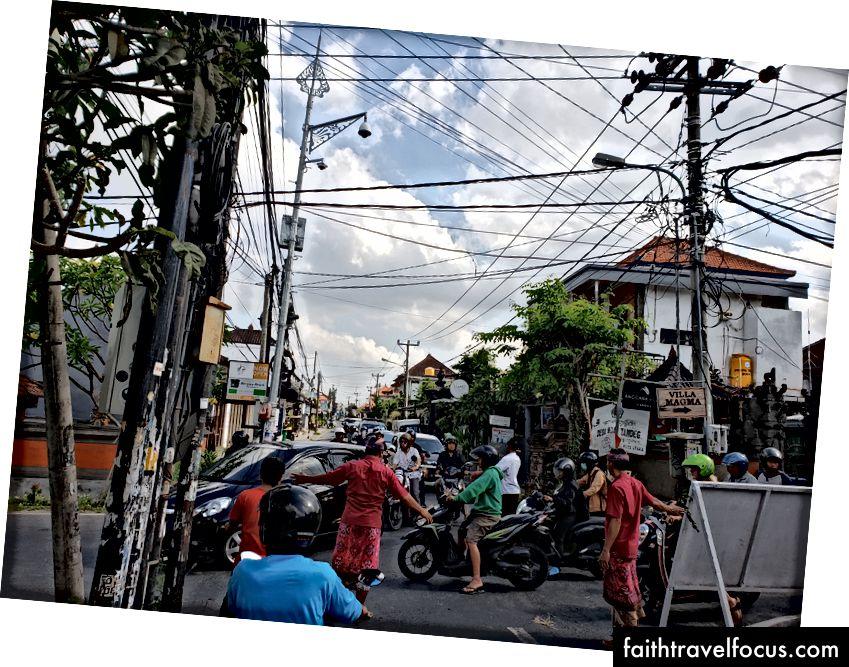 Пробка в місті Чангу, Балі