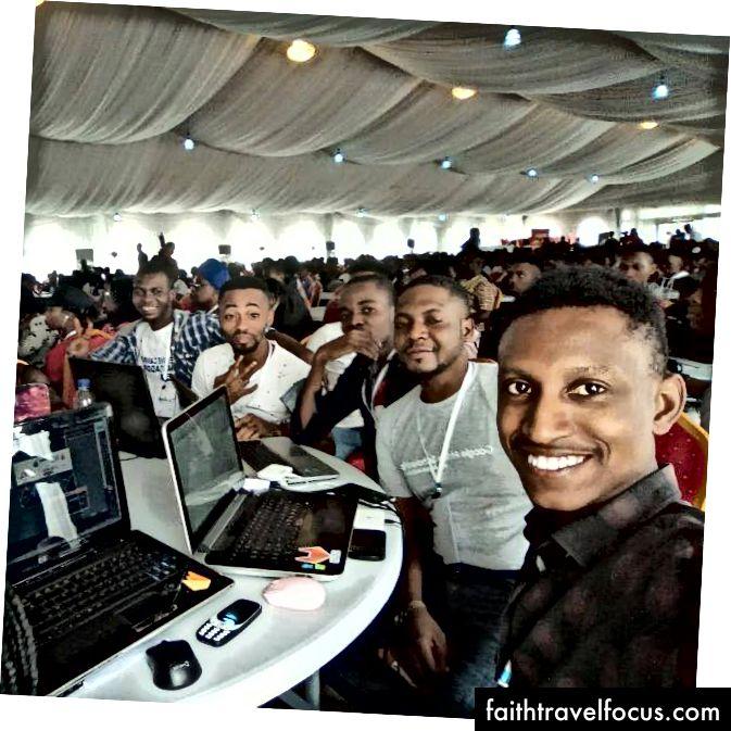 Bảng đại biểu GDG Warri