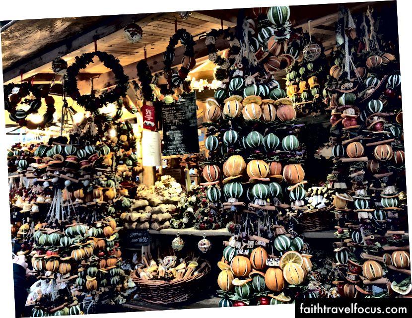 Noel pazarı, Budapeşte