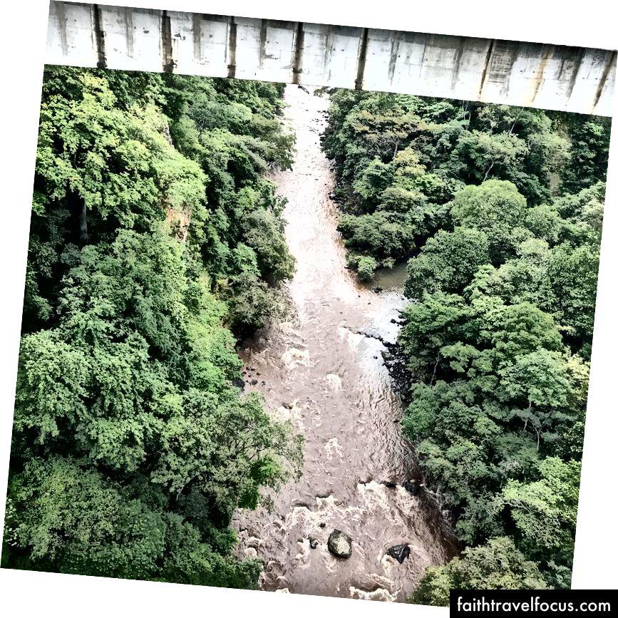 Puente Ferrocarril Rio Grande'den görünüm