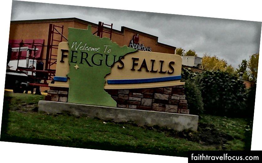 Ảnh: Signworks, Thác nước Fergus