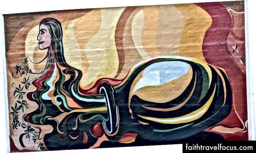 Ảnh của tác giả - Nghệ thuật đường phố ở Mendoza, Argentina