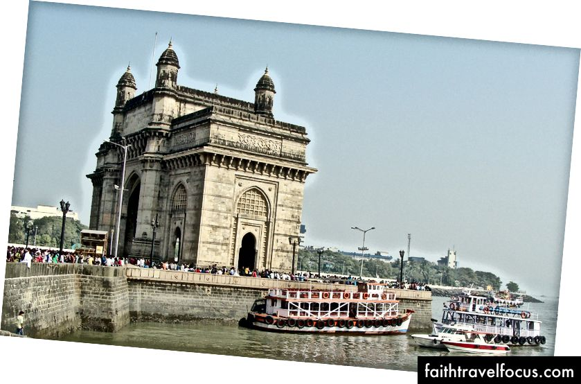 Gateway of India Denkmal in Mumbai, Indien