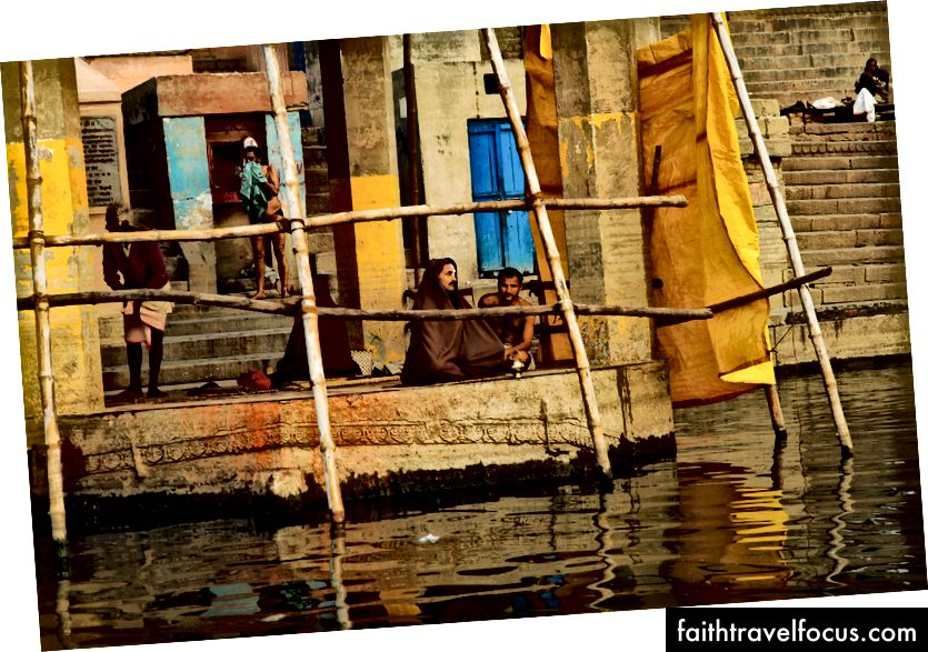 """Am Ganges"", Varanasi India, Foto © Erika Burkhalter"