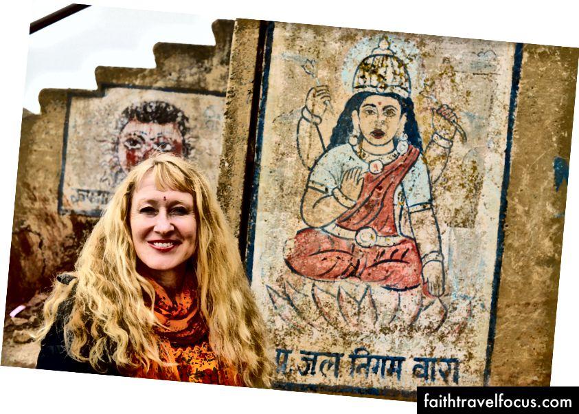 Mina, Gangese kaldal, Varanasi, India, foto autor: Alton Burkhalter