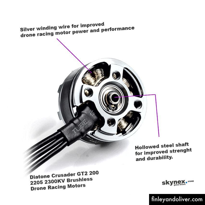 D-Silver 2205–2300 безщіткові двигуни