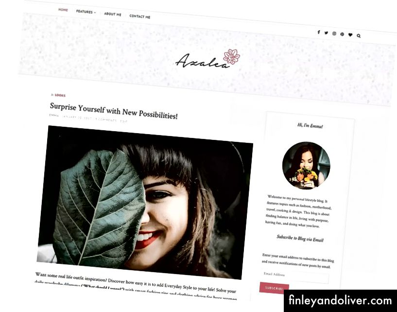 Ren WordPress Blog Theme 2018