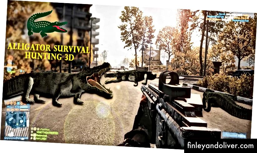 Alligator Survival jacht 3D