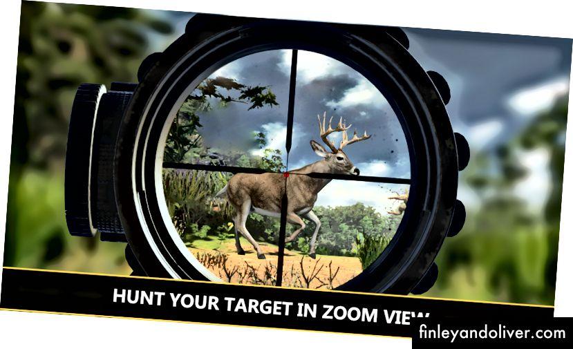 Полювання на оленів - Снайперська стрілянина 3D