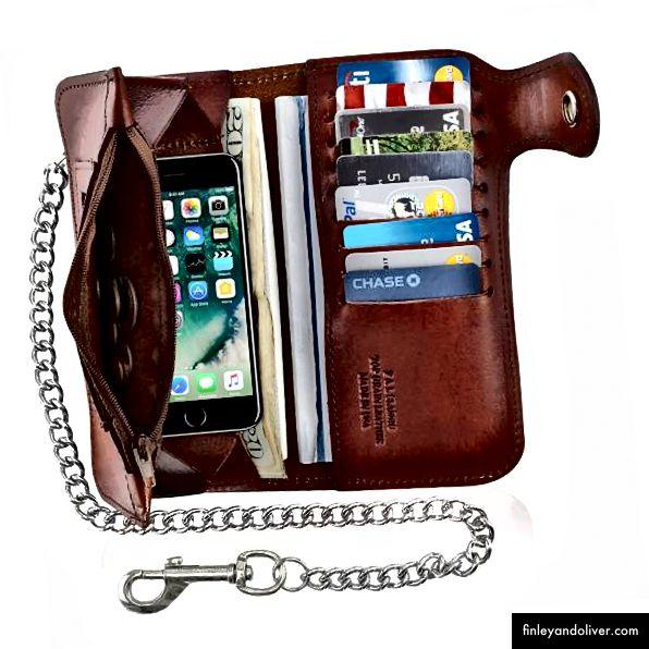 Lompakko rusetilla Vetoketjullinen lompakko
