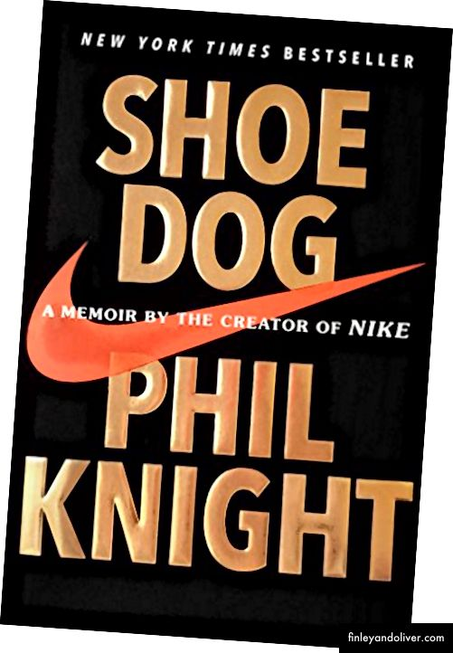 Shoe Dog od Phil Knight