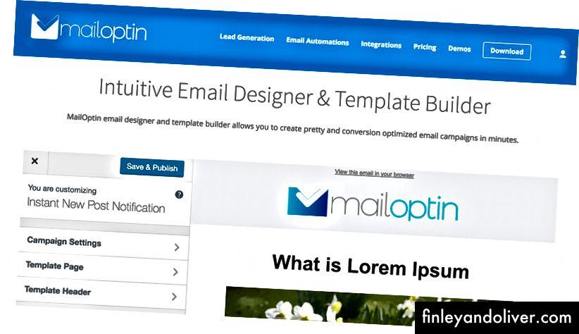 https://mailoptin.io/email-designer/