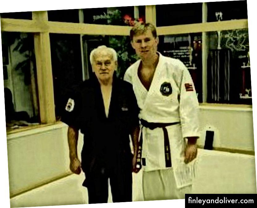 Я та мій інструктор з джиу-джитсу, професор Сіг Куффер