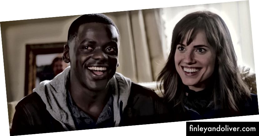 Daniel Kaluuya og Allison Williams i 'Get Out' | © Universal Pictures