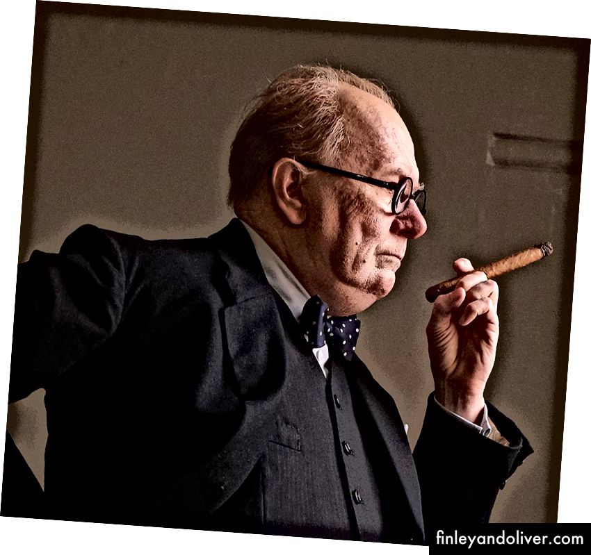 Gary Oldman i 'Darkest Hour' | © Fokusfunktioner