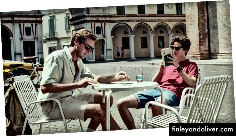 Armie Hammer en Timothée Chalamet in 'Call Me By Your Name' | © Sony Pictures Classics