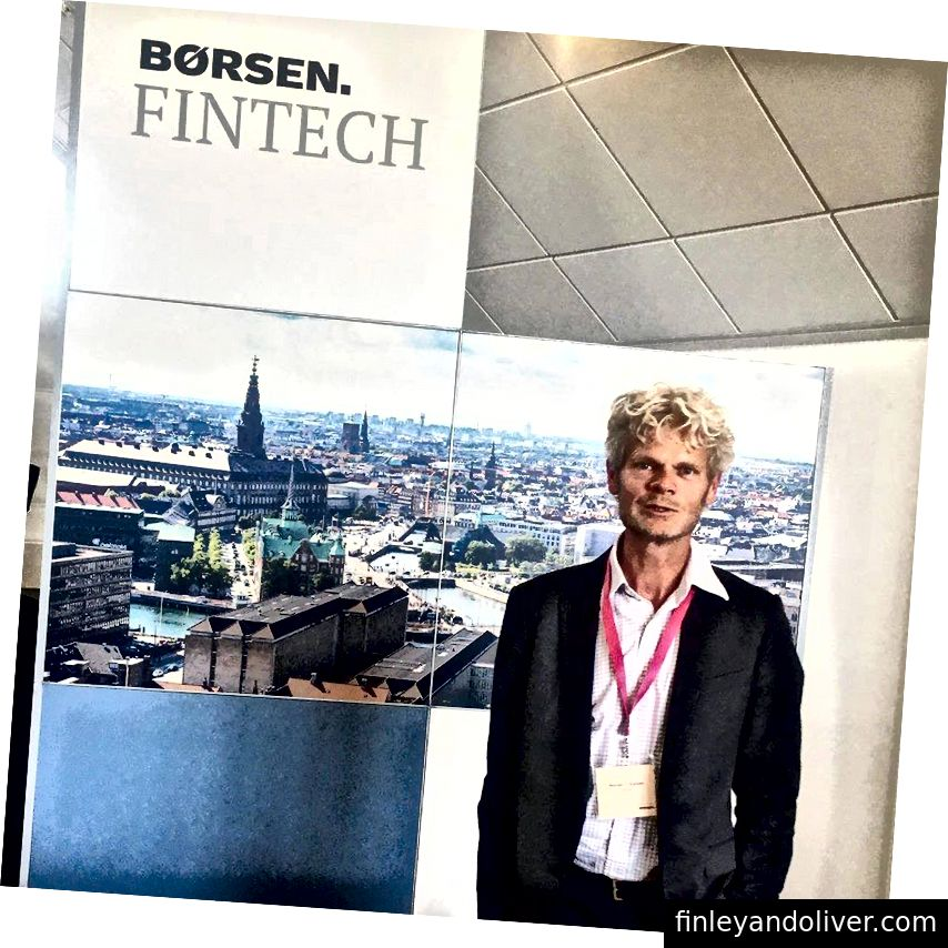 ARYZE CFO, Morten Nielsen, Børsen Fintech-da