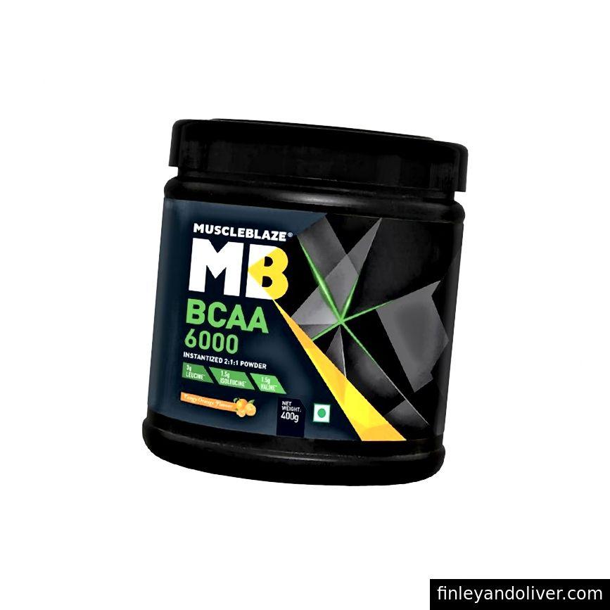 Muskullar uchun mo'ljallangan BCAA 6000