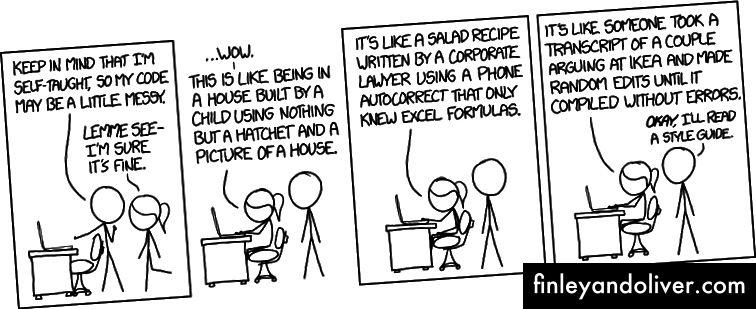 Просто следуйте стандарту кодирования - любой действительно