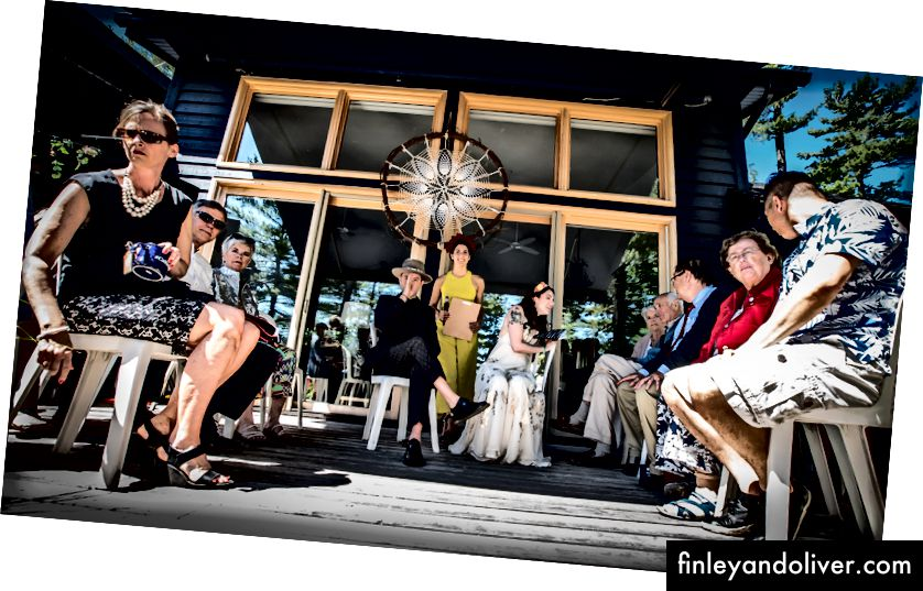 Steve & Lily trong buổi lễ. | Ảnh của Sebastian Lindstrom