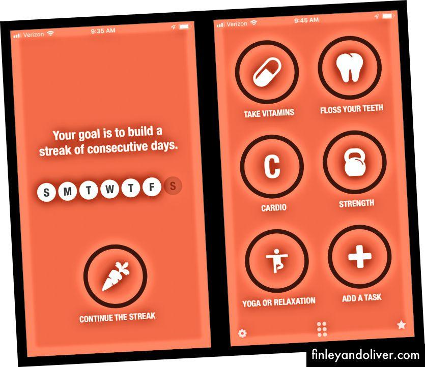 Streaks ir lietotne, kuras mērķis ir palīdzēt jums radīt pozitīvus ieradumus. Lietošanas ērtums un tīrs interfeiss padara svītras par vienu no manām iecienītākajām ieradumu uzskaites lietotnēm.