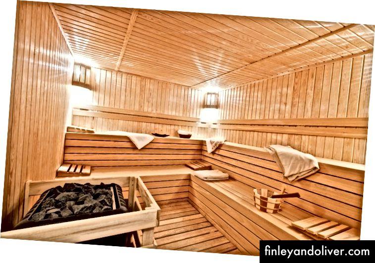 Sauna Heat Room