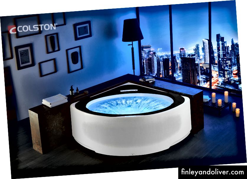 Whirlpool Hydromassagetherapie