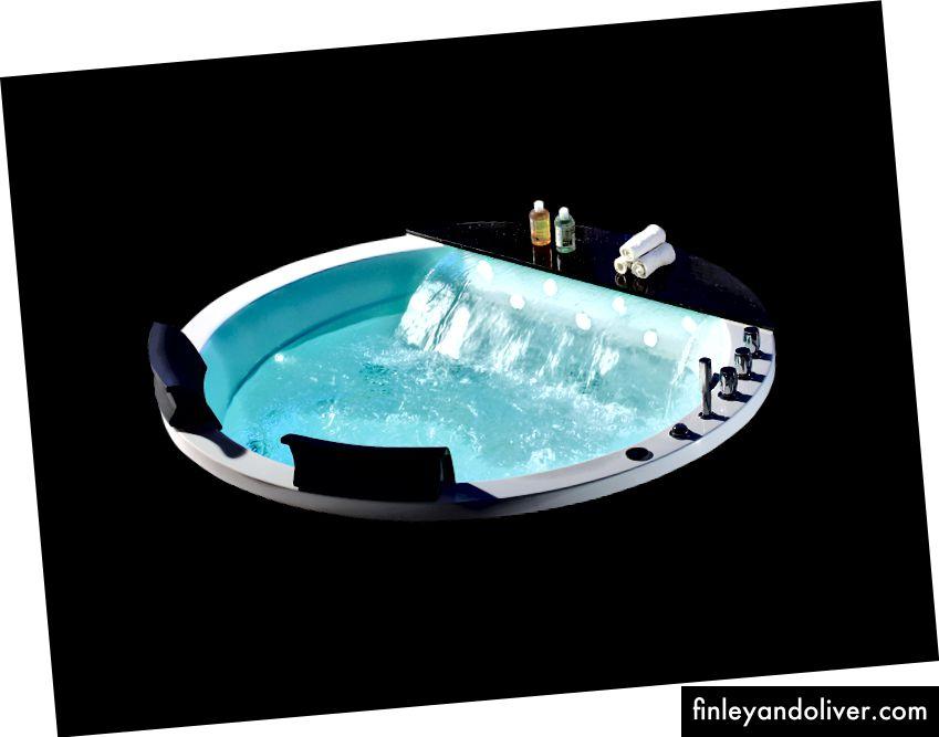 Whirlpool Hydraulisk massasjebadesystem