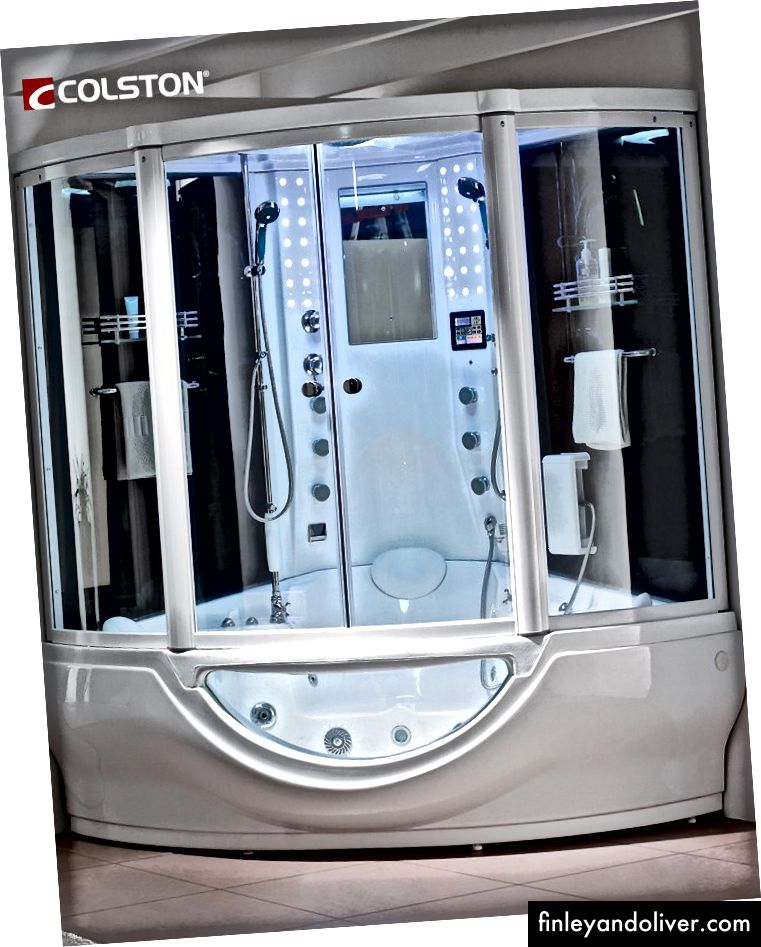 Valina Premium Whirlpool Massage Stoomcabine