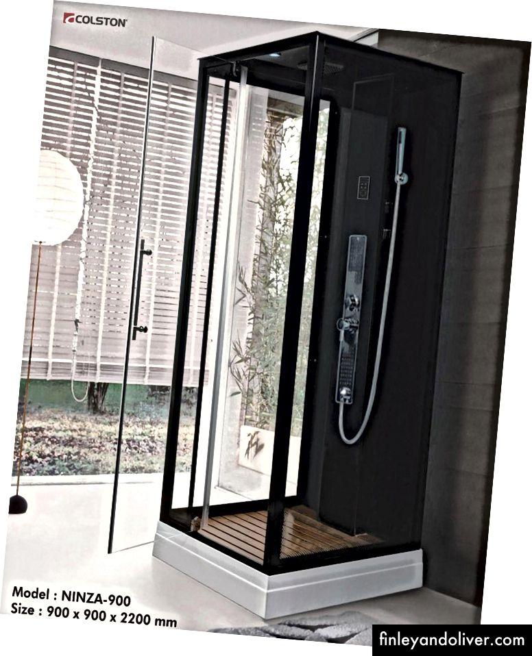 Ninza 900-Sevimli hammom makoningiz uchun yangi dizayn belgisini kashf eting