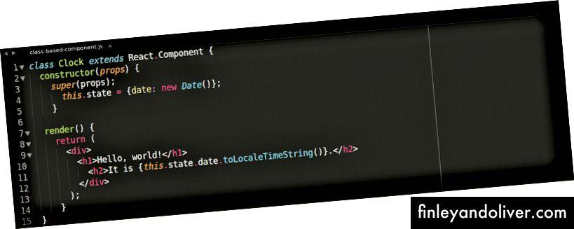 Komponent oparty na klasach, przykład.