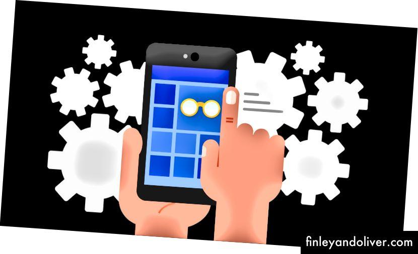 Progressive Web Apps (bron: https://developers.google.com/web/progressive-web-apps/images/pwa-fast.png)