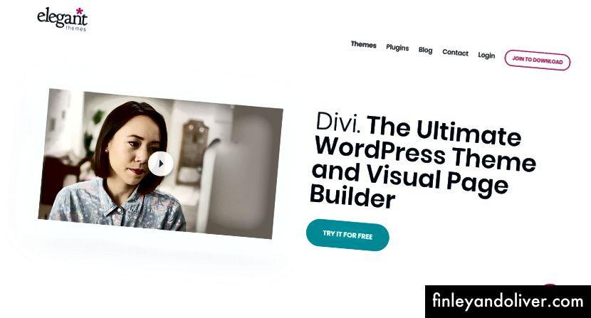 Chủ đề Divi WordPress