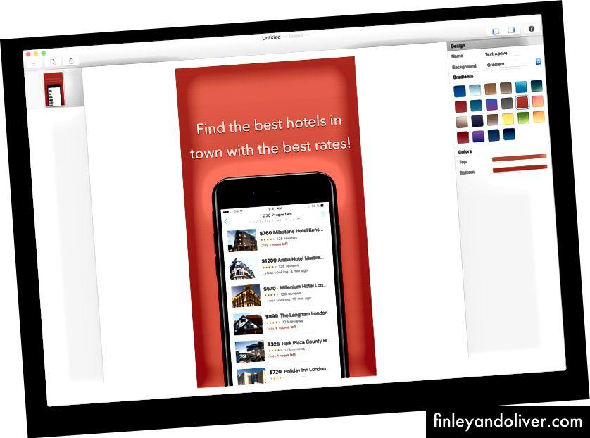 Med Screenshot Designer trenger du ikke Sketch eller Photoshop
