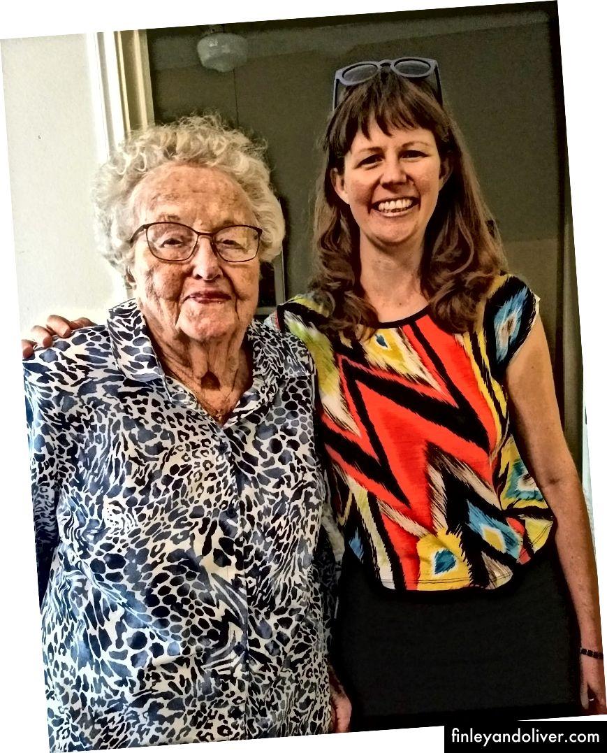 Büyükannem ve ben