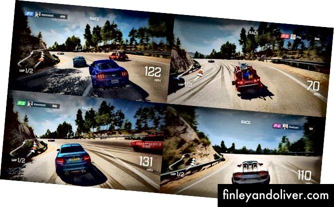 Ajablanarli - $ 20 Grand Tour o'yini PS4-dagi eng qiziqarli 4-o'yinchi bo'linadigan ekranli o'yinlardan biridir
