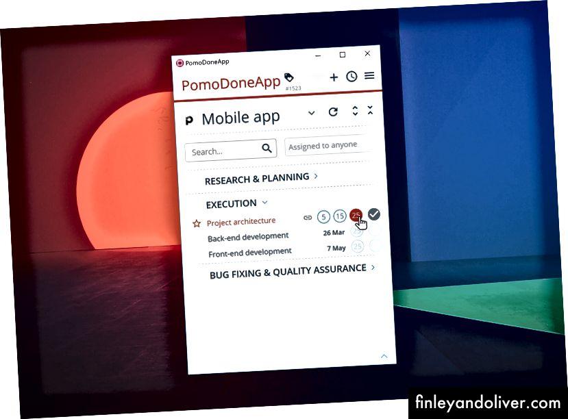 PomoDone Desktop App