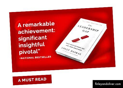The Leadership Gap: Co přináší mezi vámi a vaší velikostí