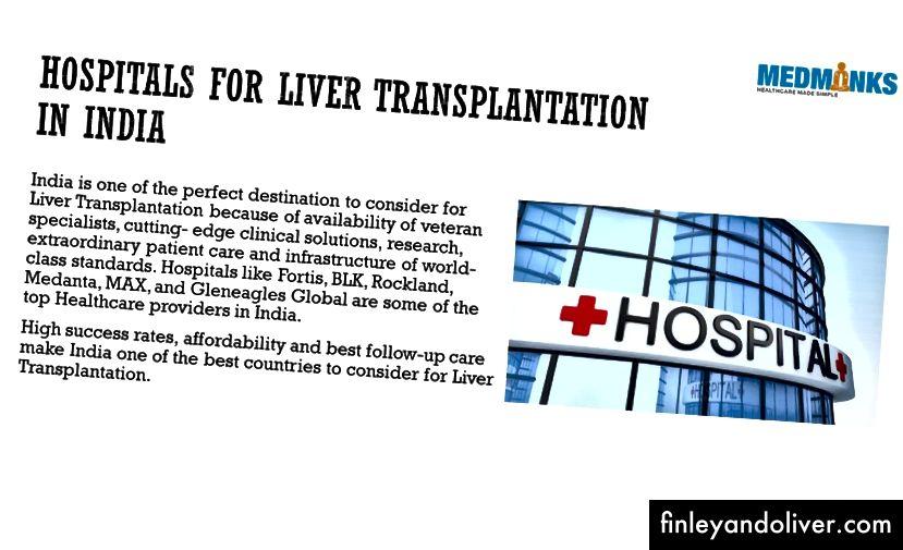 インドで最高の肝移植病院