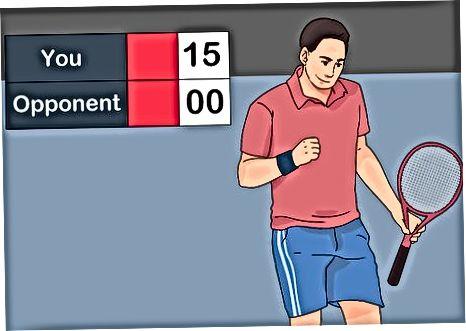Tenisa maču vērtēšana