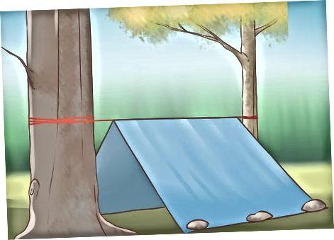 Budowanie awaryjnej osłony przeciwwiatrowej