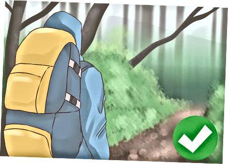 Ochrona przed wiatrem podczas wędrówek