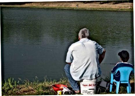 تجهيز طفلك لصيد الأسماك