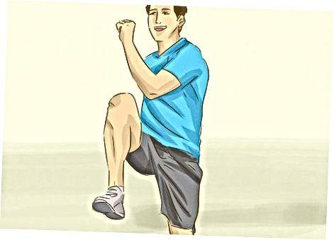 Практыкаванне для паляпшэння вашага вертыкальнага скачка